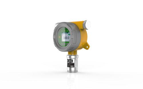 基于低温等离子体辅助催化发光的乙烯传感器